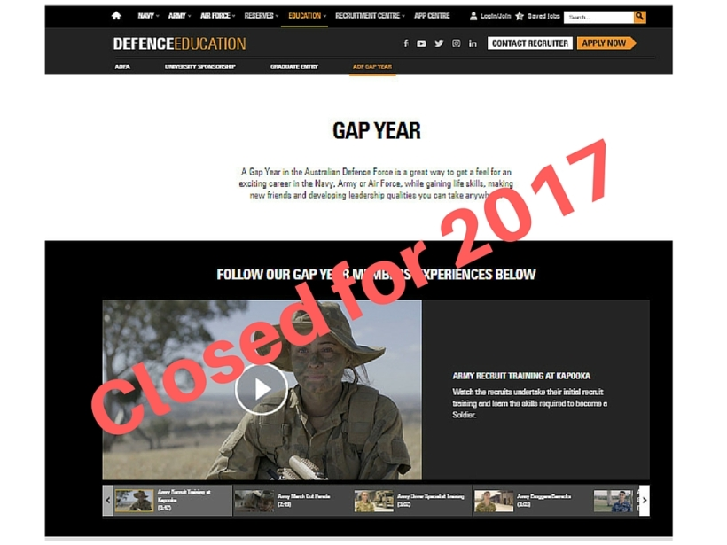 Closed for 2017