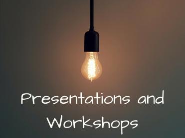 Presentations and Workshops (1)