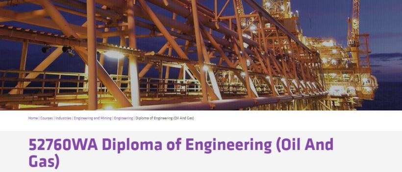 Diploma in Engineering Oil and Gas